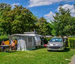emplacement camping Angers