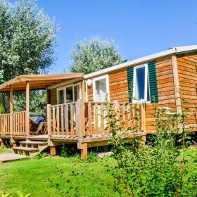 Mobil-home camping Maine et Loire